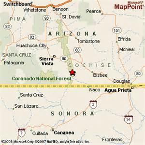 hereford arizona map hereford arizona