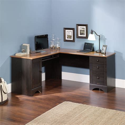 cherry desks for home office corner computer desk in antique paint finish home office