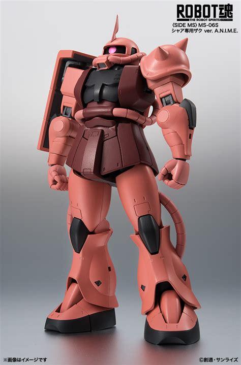 Promo Robot Damashi Ms 06s Char Custom Zaku Ver Anime Murah robot damashii ms 06s zaku ii char custom ver a n i m e collectiondx
