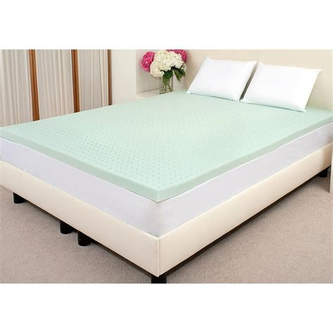 foam bed topper viscofresh 3 quot memory foam mattress topper 203410