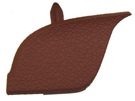 hummer   left instrument panel trim brick red  oem