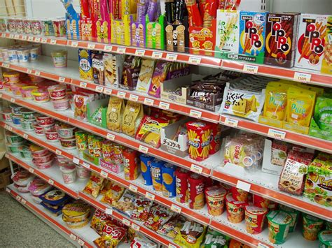 Snack Store by Konbini Convenience Stores In Japan Japan