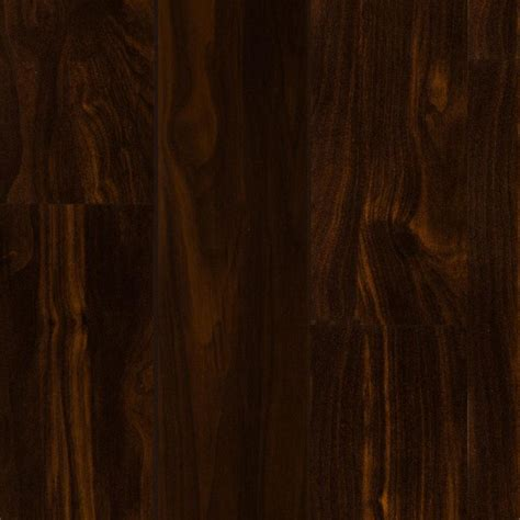 shop style selections walnut wood planks laminate sle at lowes com shop style selections 4 96 in w x 4 23 ft l dark walnut