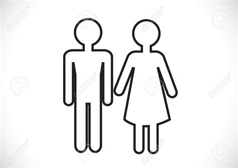 bathroom man and woman man and women bathroom sign clipart best