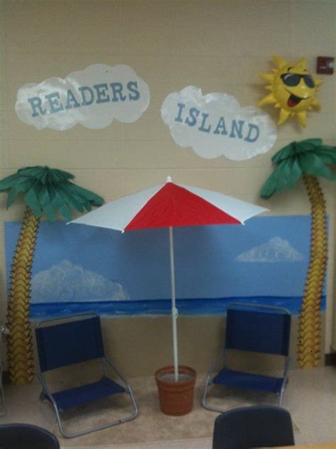 reading center themes cute idea for library reading corner