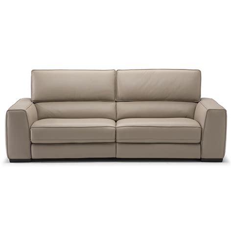 natuzzi ergo soft touch recliner sofa