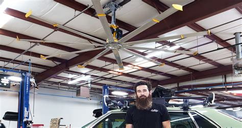 garage ceiling fan with light gas monkey garage 174 uses large portable fans ceiling fans