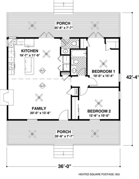Small House Plans Open Floor Plan by Welcome Back Small House The Small House Plan Can Pack A