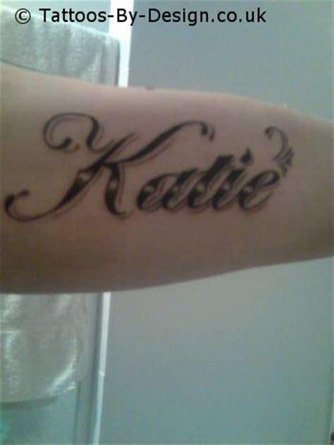 tattoo name katie katie tattoo