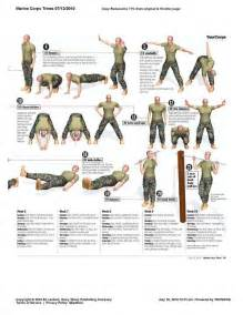 usmc meal card template morning calisthenics marine corps style the workout