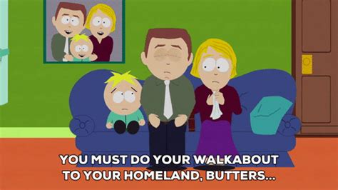 watch my grandmother s secret decorating weapon southern living sad butters stotch gif by south park find share on giphy