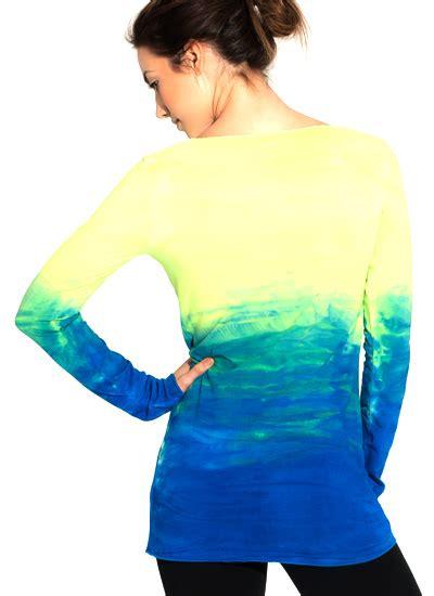 N40 Sky Flow Spandex flow tunic eco malibu clothingeco malibu clothing