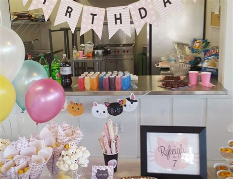 epic cat table cats birthday quot epic cat party quot catch my party