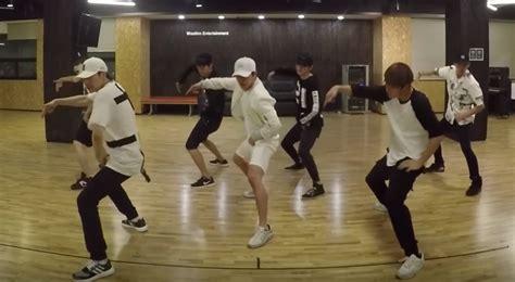 dance tutorial infinite bad watch infinite surprises with quot bad quot dance practice soompi