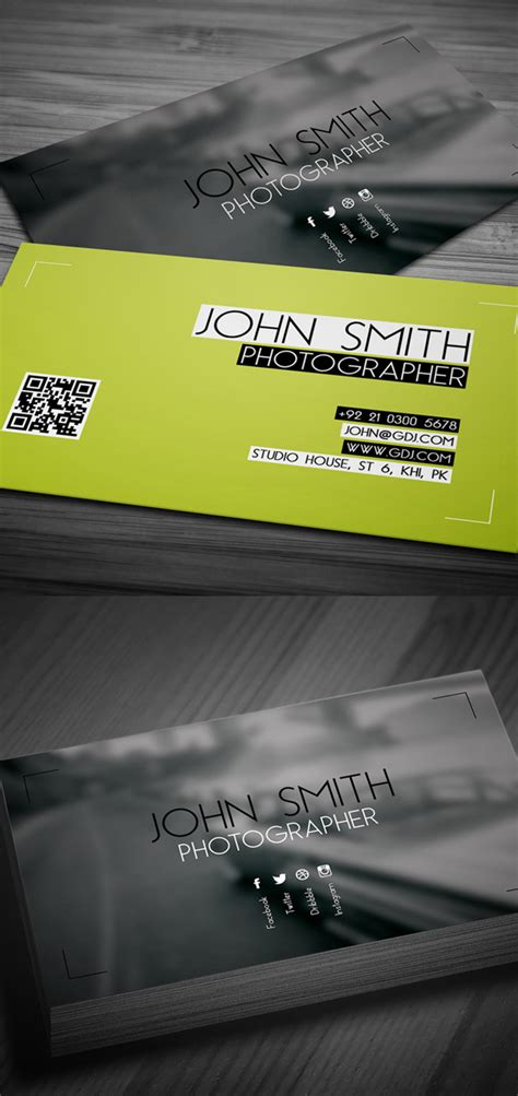photographer business card template psd free free psd files psd mockup templates freebies graphic