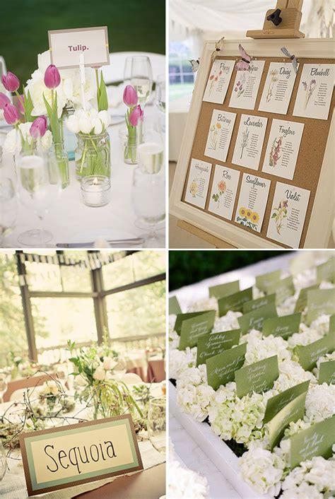 tableau tema fiori alcune idee per il tableau di matrimonio deaparty