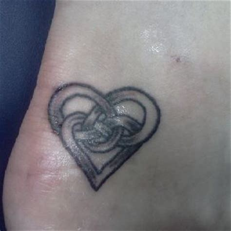 celtic love knot tattoo celtic knot symbolizes the between a