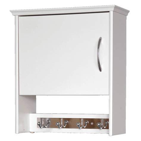 deep bathroom wall cabinets wood wall cabinet with hooks 7 inch deep in bathroom