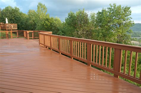 wood deck railing post spacing complete your deck with style and safety about deck railings
