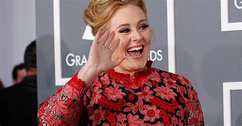 adele arrives at the 55th annual grammy awards at staples adele wins pop grammy admits nerves about oscars dawn com
