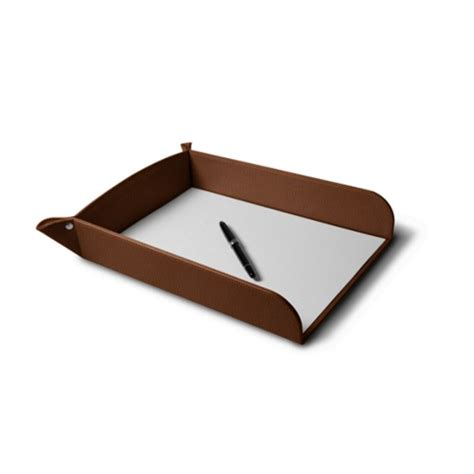 Paper Tray - leather paper trays