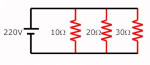 a 4000 ohm resistor is connected across 220v what current will flow voltage divider rule electrical circuits