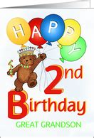 happy birthday two year my grandson logan is two years age specific birthday cards for great grandson from