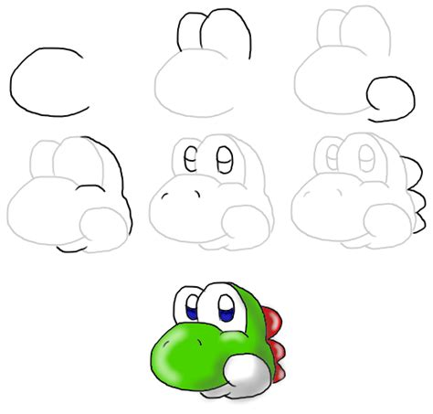 Drawing Yoshi by Drawing Pictures Yoshi Drawing Pictures
