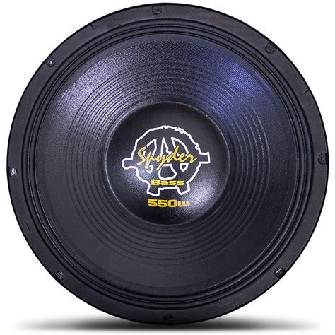 Kaos Bass woofer 12 quot spyder kaos bass 550 550 watts rms 4 ohms