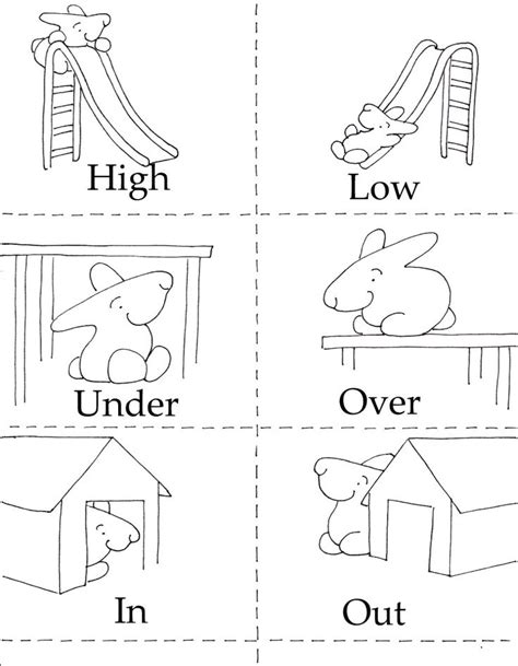 In And Out Worksheets For Preschoolers by Best 25 Opposites Preschool Ideas On The Opposites Teaching And