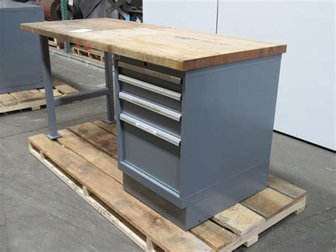 Workbench Cabinet by Lista 72 Quot X30 Quot 4 Drawer Industrial Workbench Station Tool