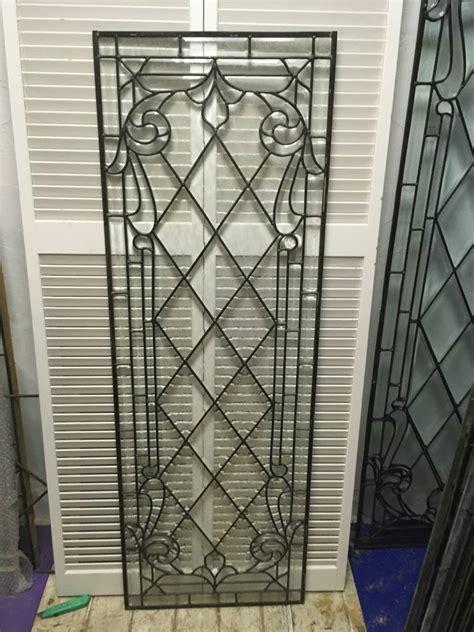 leaded glass window panel   sarasota architectural