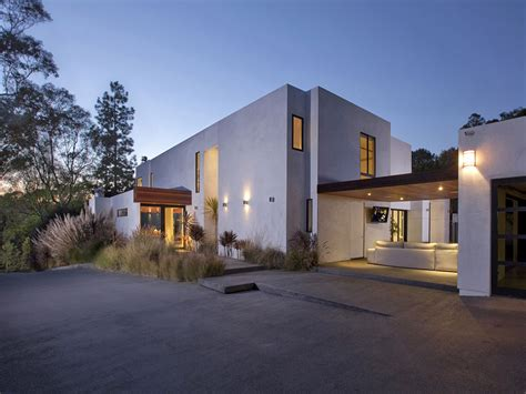houses in beverly hills world of architecture modern beverly hills house wood glass and stone