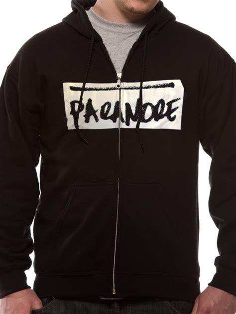Hoodie Sweater Zipper Paramore K21 paramore scribble hoodie tm shop