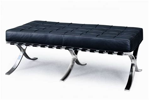 black leather benches exposition famous design black leather bench prime classic