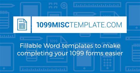 1099 form template 1099misctemplate
