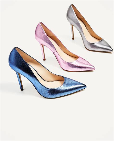 Zara Zapato zara zapato salon piel metalizado ropamujermoda es