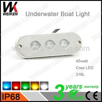 fountain boat trim tabs weiken 45w trim tabs for boats led submersible lights ip68