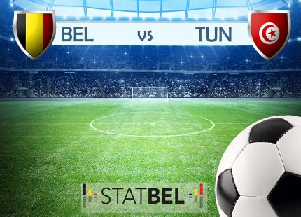 belgique vs tunisie statbel