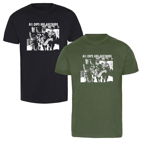 Kaos Gildan Softstyle Social Distortion 01 all cops are bastards tshirt kaufen bei spirit of the