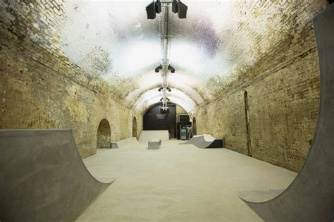 designboom vans london house of vans skatepark opens beneath london s waterloo