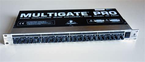 Multi Gate multigate pro xr4400 behringer multigate pro xr4400 audiofanzine