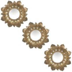 The Uttermost 3 Pc Floral Mirror Wall Decor Set Polyvore