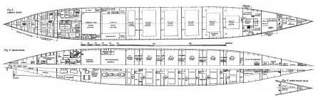 titanic floor plans titanic deck plans side view