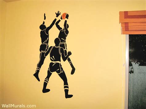 sports wall murals exles of sports murals