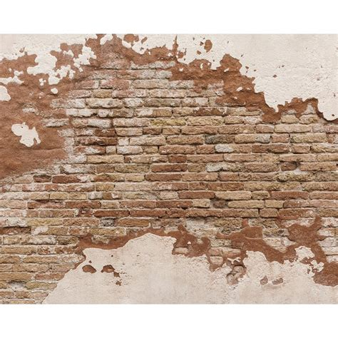 Kitchen Faucets Reviews distressed brick wall mural wr50508 the home depot