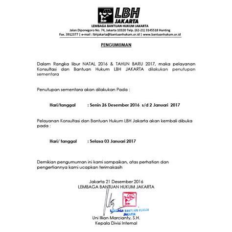 Info Libur Operasional Natal 2017 Dan Tahun Baru 2018 pengumuman pelayanan libur natal 2016 tahun baru 2017