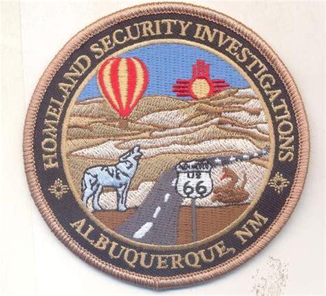homeland security investigations albuquerque with velcro