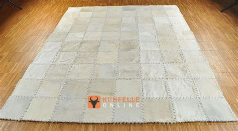 kuhfell teppich kuhfell teppich weiss natur creme 200 x 160 cm handvern 196 ht