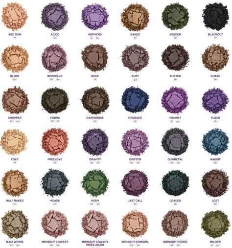 best decay eyeshadow colors decay new reved eyeshadows swatches photos